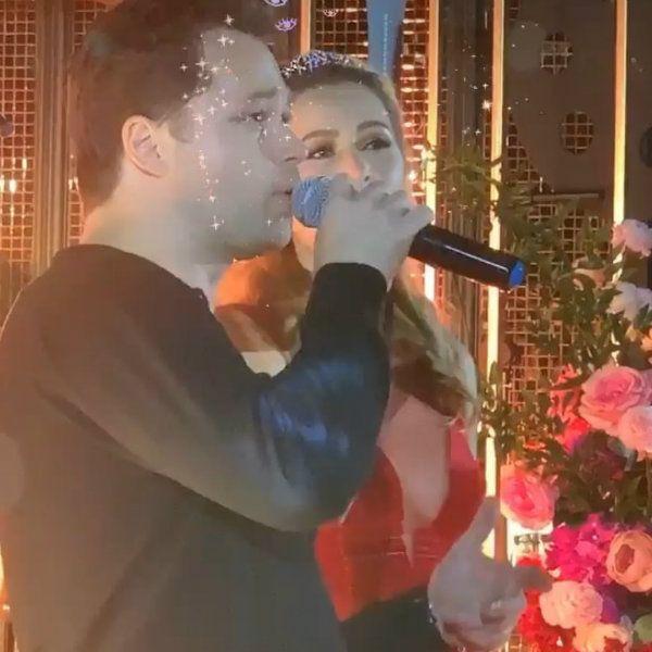 Мария Кожевникова на праздновании 35-летия спела дуэтом со звездой «Универа» Виталием Гогунским