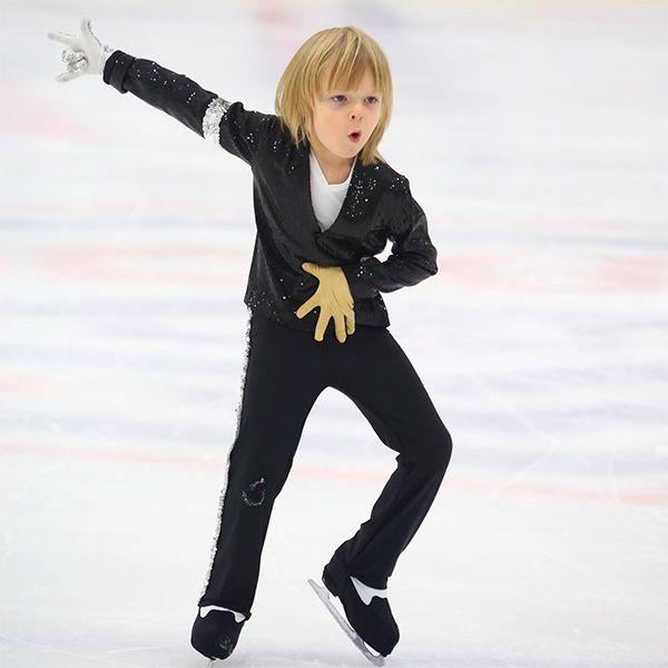 6-летнему сыну Яны Рудковской и Евгения Плющенко запретили выступать под песню Майкла Джексона