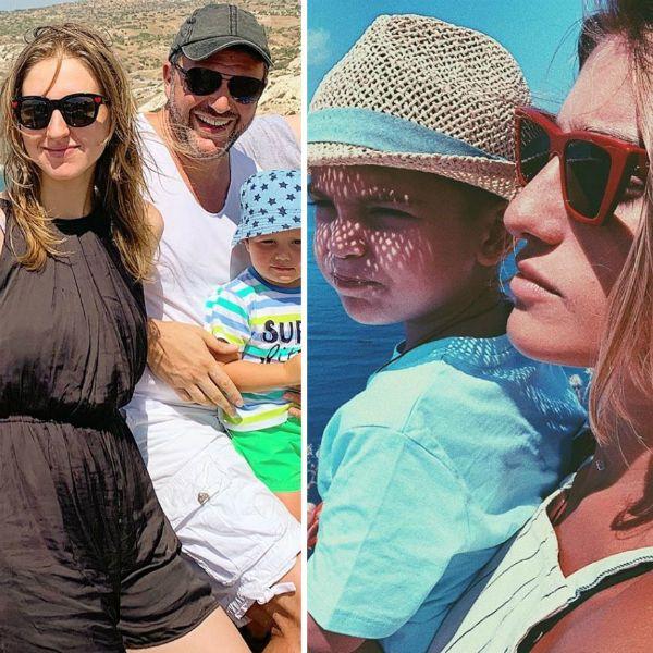 Максим Виторган и Нино Нинидзе познакомили своих детей на совместном отдыхе в Греции
