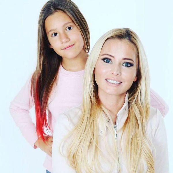 Дана Борисова вместе с 11-летней дочерью приняла участие в съемках программы на канале «СПАС»