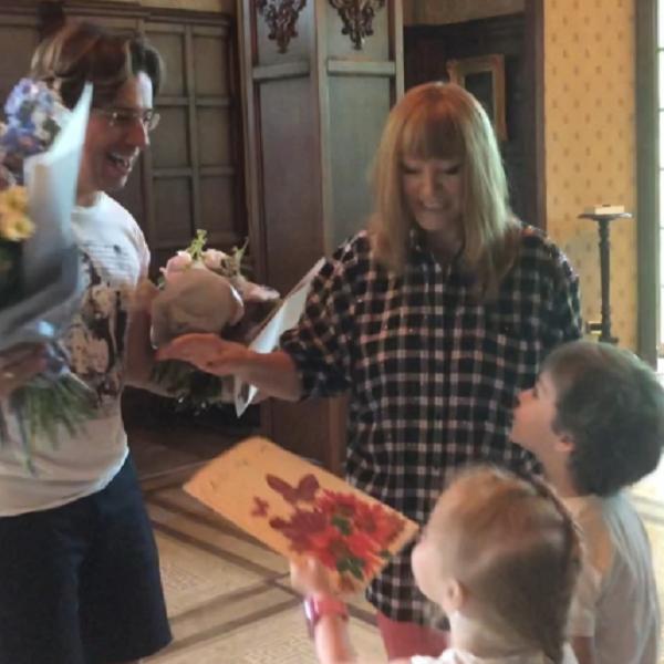 Максим Галкин показал, как их с Аллой Пугачевой 5-летние дети поздравили его с днем рождения