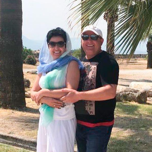 51-летняя звезда «Битвы экстрасенсов» Елена Голунова опубликовала фото из свадебного путешествия
