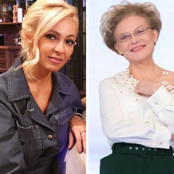 Яна Рудковская призвала Елену Малышеву снять вторую часть программы о детях-кретинах