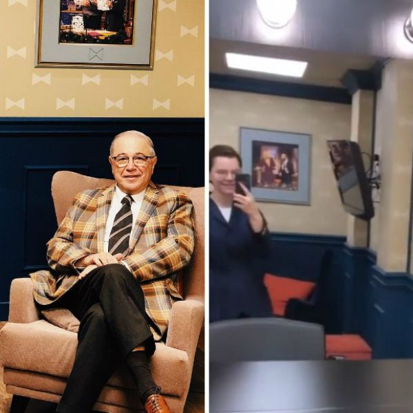 Молодая возлюбленная Евгения Петросяна пришла поддержать его на съемки в шоу Вечерний Ургант