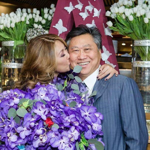 Анита Цой поздравила мужа с 29-й годовщиной свадьбы