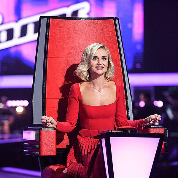Полина Гагарина пошутила, что во время съемок в 8-м сезоне шоу «Голос» может снова забеременеть