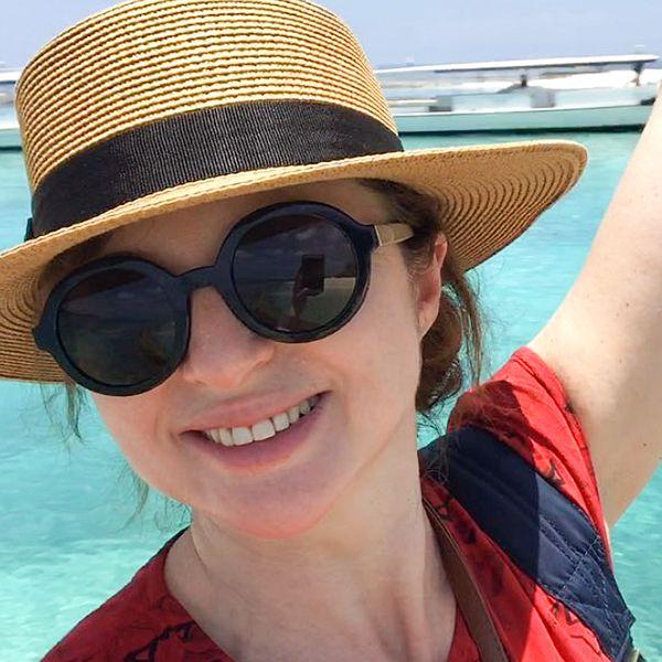 44-летняя Анна Банщикова опубликовала редкое фото в купальнике