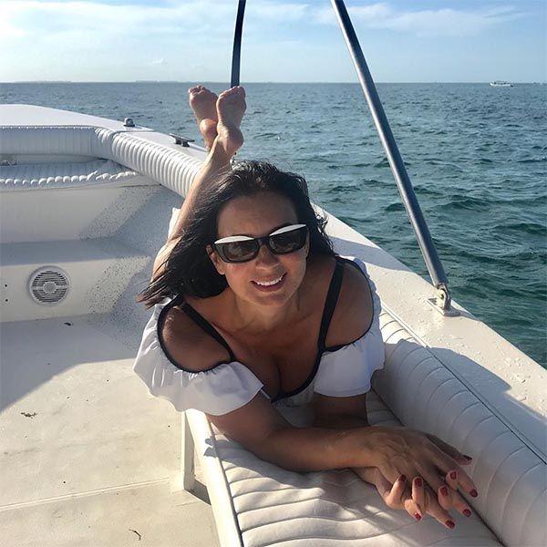 51-летняя Екатерина Стриженова поделилась фото из отдыха в Мексике