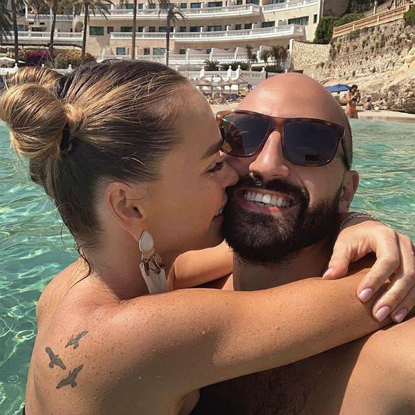 Анна Хилькевич трогательно призналась мужу в любви в день его рождения