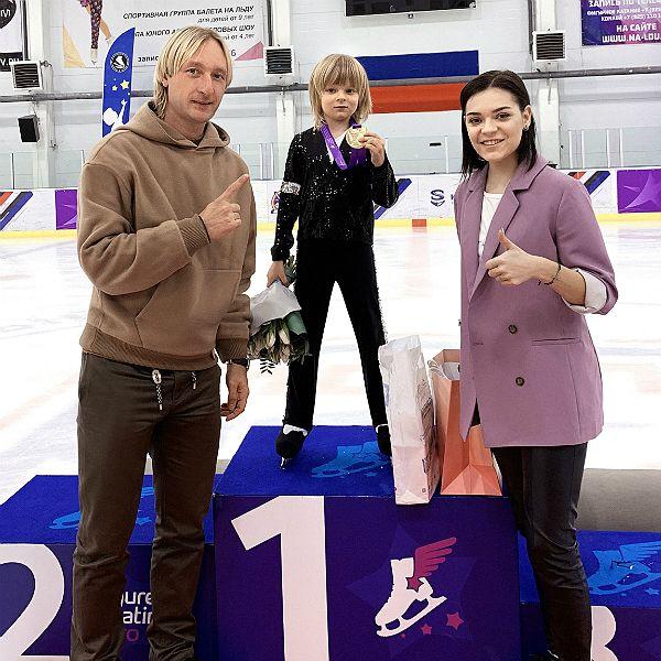 6-летний сын Яны Рудковской победил на «Кубке Евгения Плющенко» с программой под песни Майкла Джексона