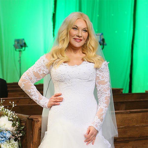 54-летняя Таисия Повалий снялась в роли невесты в своем новом клипе