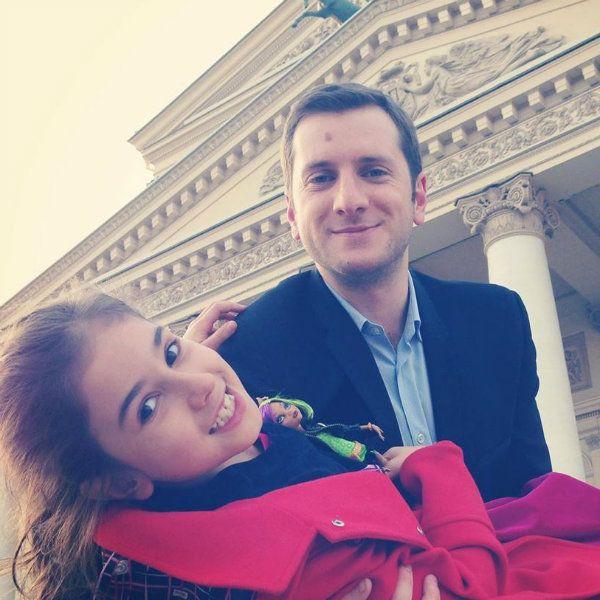Резо Гигинеишвили трогательно поздравил дочь от первого брака с 13-летием