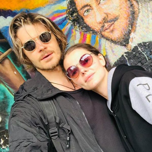 Елизавета Боярская взяла мужа Максима Матвеева на гастроли в Лондон