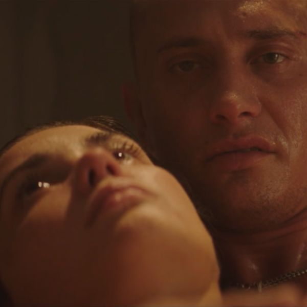 В тизере сериала «В клетке» показали постельную сцену с Павлом Прилучным и Агатой Муцениеце