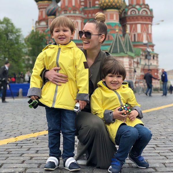 Мария Кожевникова высказалась против того, чтобы ее сыновья переехали за границу