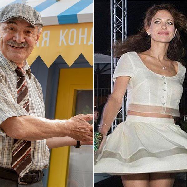 Екатерина Климова исполнила зажигательный танец с Александром Панкратовым-Черным на его юбилее