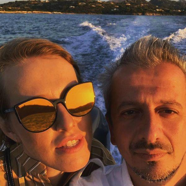 Ксения Собчак и Константин Богомолов показали яхту, на которой отдыхают в Италии