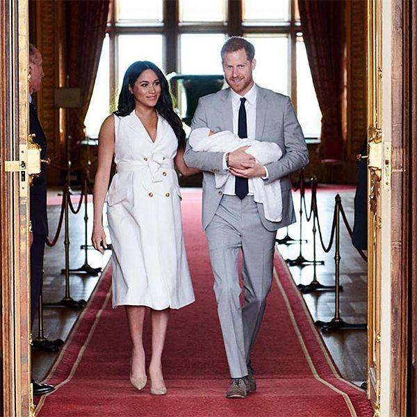 Спустя неделю после рождения у принца Гарри и Меган Маркл сына его увидели Кейт Миддлтон и принц Уильям
