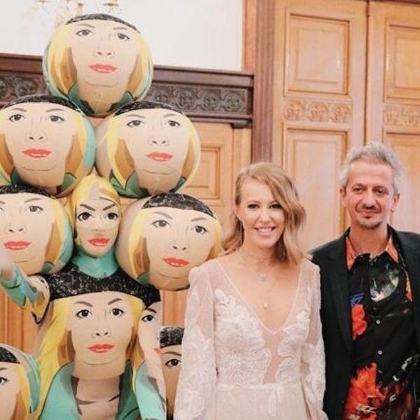 На свадьбе Константина Богомолова и Ксении Собчак вместо свидетельницы был дизайнер Андрей Бартенев