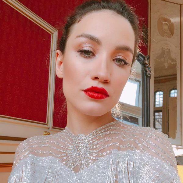 31-летняя Виктория Дайнеко приняла участие в свадебной фотосессии