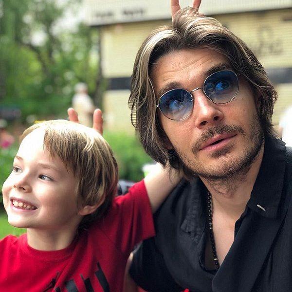 Елизавета Боярская показала, как ее муж Максим Матвеев проводит время с их 7-летним сыном