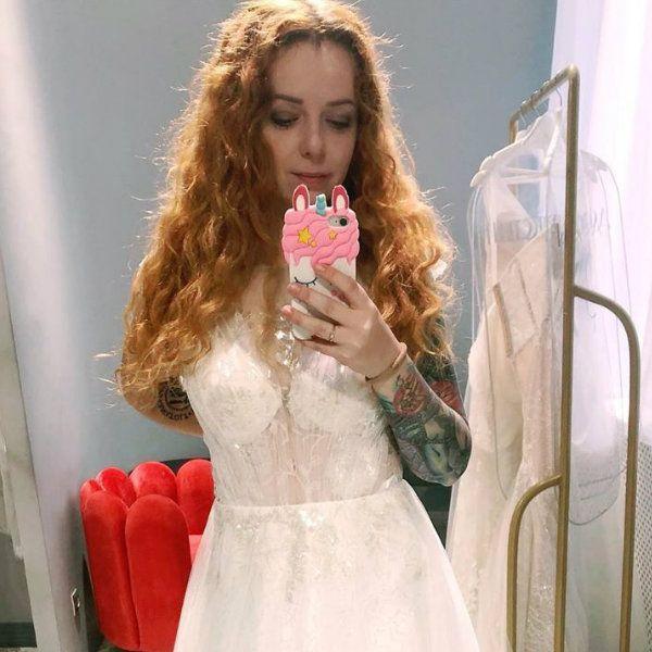 Звезда «Ранеток» Женя Огурцова показала платье, в котором выйдет замуж