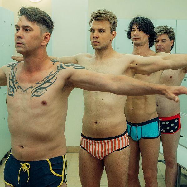 Группа «На-На» сняли новый клип «Считаю медленно до ста» в бассейне