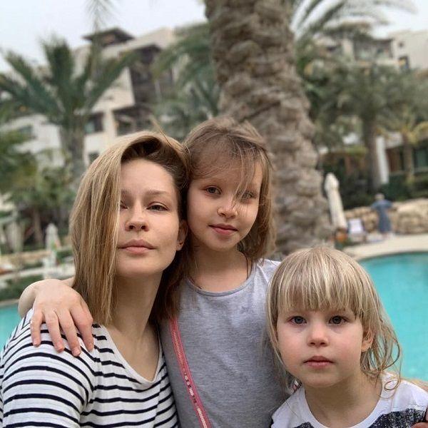 34-летняя Юлия Пересильд рассказала об активном отдыхе с детьми