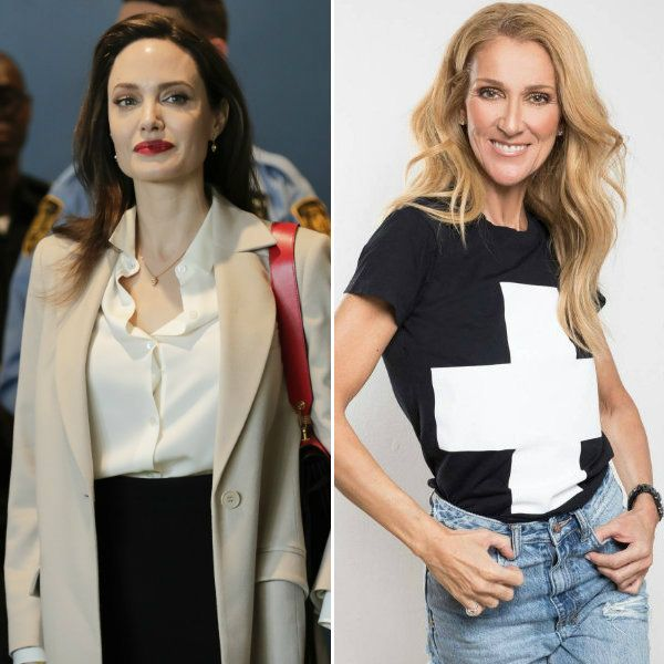 Анджелина Джоли поссорилась с Селин Дион, отказавшись сыграть певицу в байопике