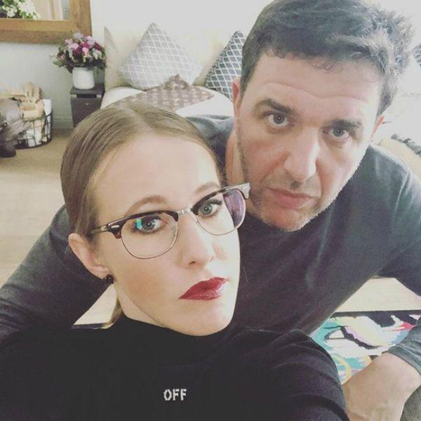 Бывшие супруги Ксения Собчак и Максим Виторган обменялись колкими комментариями в соцсетях