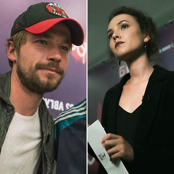 Александр Петров поддержал новую возлюбленную Стасю Милославскую на премьере фильма «Бык» с ее участием