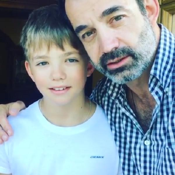Дмитрий Певцов опубликовал трогательное видео в честь 12-летия сына