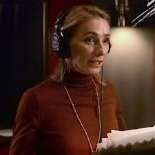 Татьяна Навка показала, как озвучивала одну из главных ролей в мультфильме «Большое путешествие»