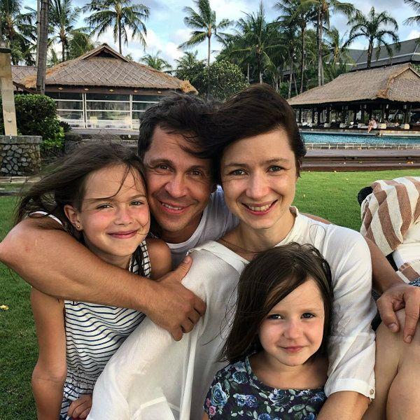 Павел Деревянко трогательно поздравил младшую дочь с 5-летием