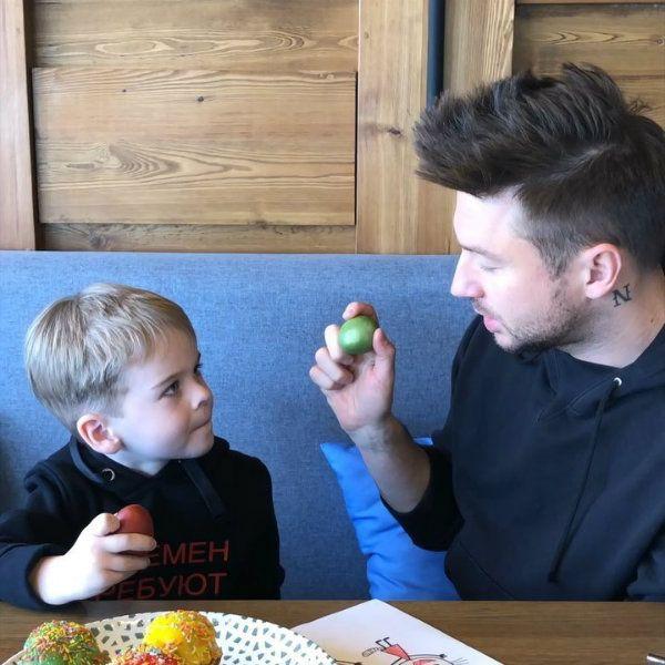 Сергей Лазарев поделился умилительным видео с 5-летним сыном