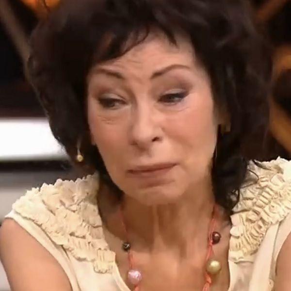 Заметно похудевшая и постаревшая Марина Хлебникова впервые за долгое время появилась на телевидении