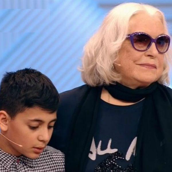 80-летняя Лидия Федосеева-Шукшина впервые встретилась с 10-летним правнуком, с которым отказывалась общаться