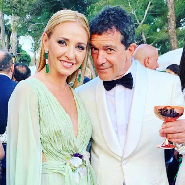Татьяна Навка похвасталась совместным снимком с Антонио Бандерасом