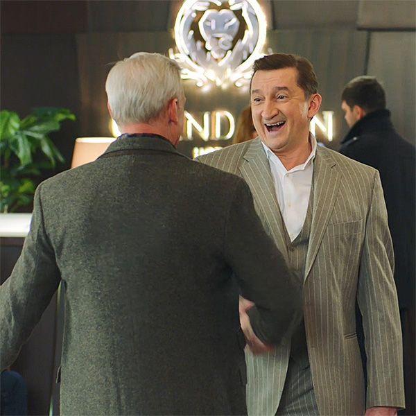 Звезды «Улиц разбитых фонарей» встретились на съемках нового сериала