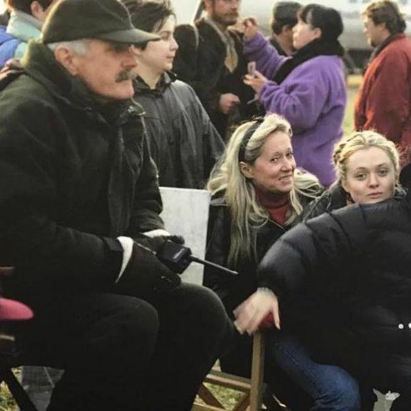 Жена Никиты Михалкова опубликовала архивное фото со съемок фильма «Сибирский цирюльник»