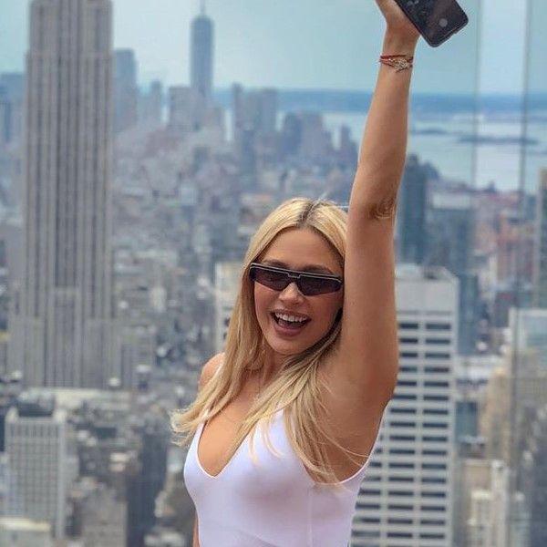 Наталья Рудова отмечала свой 36-й день рождения в Нью-Йорке пять дней подряд