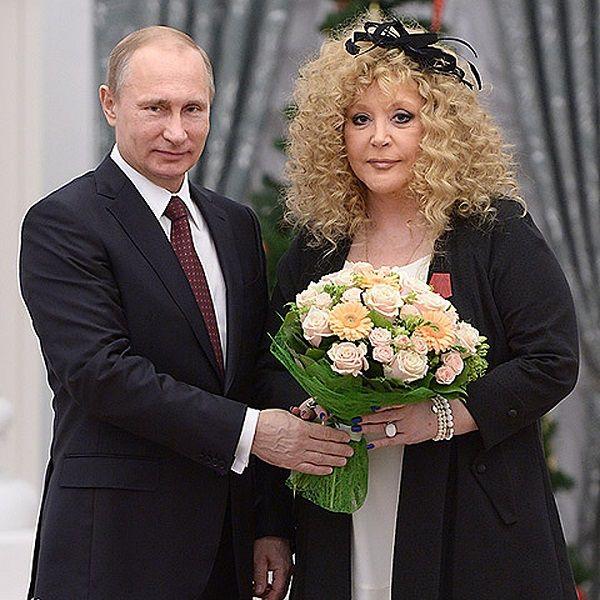 Владимир Путин вручит Алле Пугачевой орден «За заслуги перед Отечеством I степени» в честь ее юбилея
