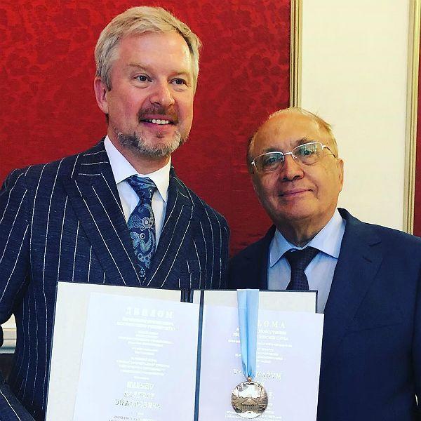52-летний Валдис Пельш получил звание почетного профессора МГУ