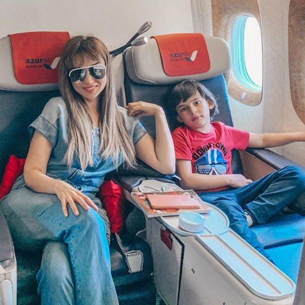 Анфиса Чехова оправдалась за то, что взяла вместе с собой на отдых няню для 6-летнего сына