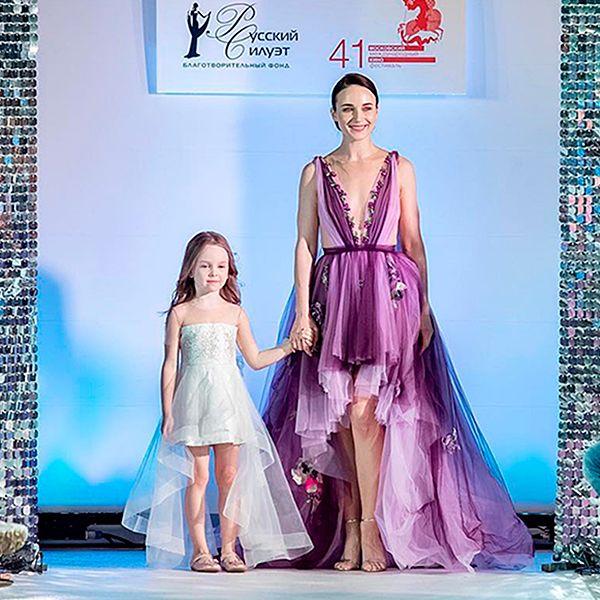 Анна Снаткина впервые показала лицо дочери