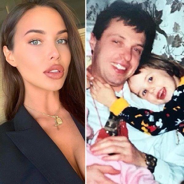 Возлюбленная Тимати в честь дня рождения отца опубликовала архивное фото с  ним и с сестрой. 0fc14814f38