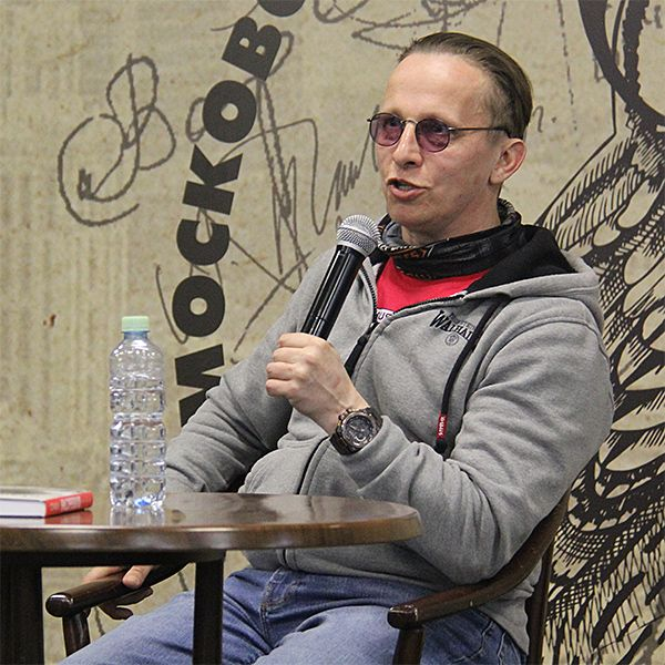 Иван Охлобыстин представил свой новый роман «Улисс»