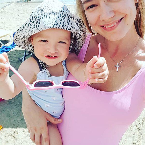 Оксана Акиньшина крестила 2-летнюю дочь