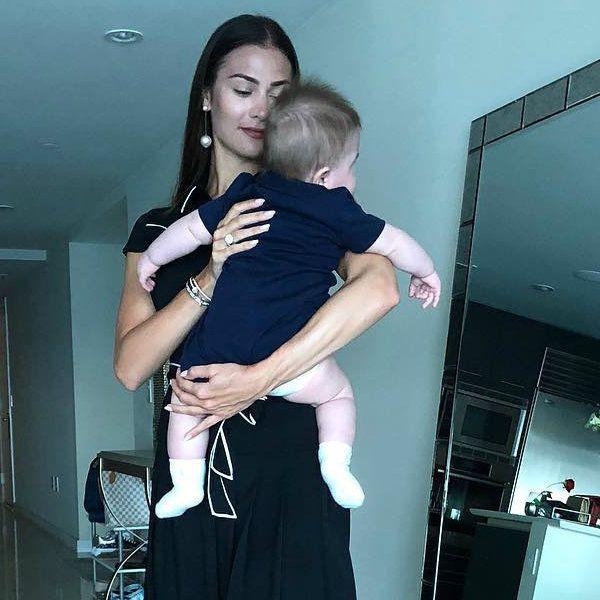 Анастасия Шубская и Александр Овечкин крестили сына