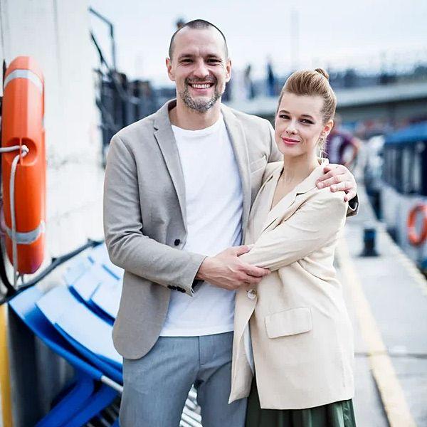 33-летняя Катерина Шпица впервые вывела в свет нового возлюбленного